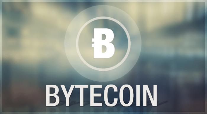 Acheter Bytecoin, prix, cours
