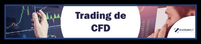 banniere trading de CFD