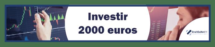 banner investir 2000 euros