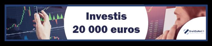 banner investir 20000 euros