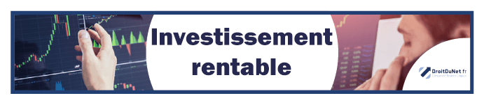 banner investissement rentable