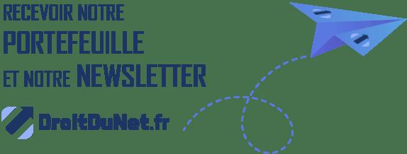 abonnement newsletter droitdunet