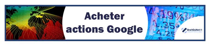 banner acheter actions google