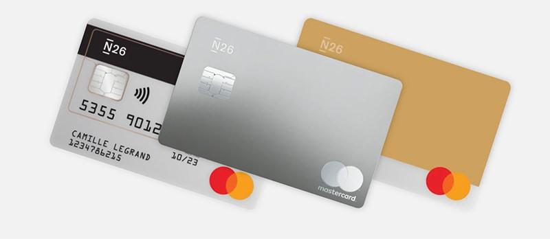 n 26 credit card
