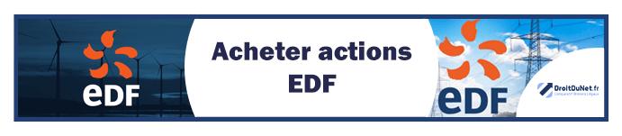 banner acheter actions edf