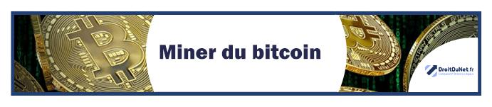 banner miner du bitcoin